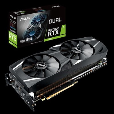 ASUS Dual GeForce RTX™ 2080 Advanced edition 8GB GDDR6, 256-bit