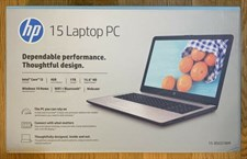 HP Notebook - 15-bs031wm 7th i3