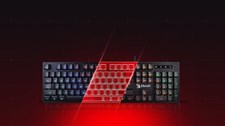 A4 Tech B160N Neon Lighting Gaming Keyboard