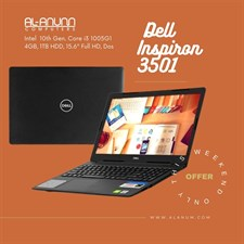 "Dell Inspiron 3501, Ci3 10TH, 4GB, 1TB, 15.6"" FHD, DOS, BLACK"