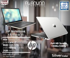 HP Notebook 15-da1031nia 8th Ci7