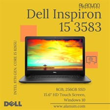 "Dell Inspiron 3583,, Ci5 8Th, 8GB, 256SSD, 15.6"" Touch, W10, Black"