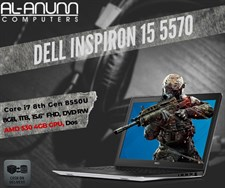 Dell Inspiron 15 5570 i7 8Th Gen