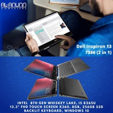 Inspiron 13 7386 2-in-1 Laptop