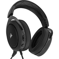 CORSAIR HS60 SURROUND Gaming Headset — Carbon (AP)