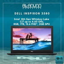 Dell Inspiron 3580 Core i7 8Th Gen