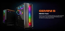 Gemini S Iron-Gray RGB Mid Tower