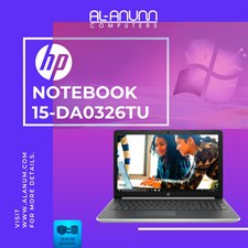 HP Notebook 15-da0326tu i3 7Th Gen