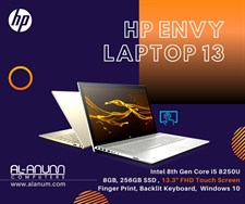 HP ENVY 13 AQ0011MS, Ci5 8TH
