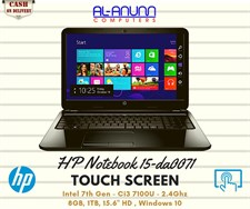 HP Notebook 15-da0071 i3 7Th Gen
