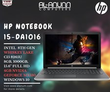 HP Notebook 15-da1016ne 8th Ci5