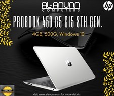 Hp ProBook 450 G5 8th Gen i5