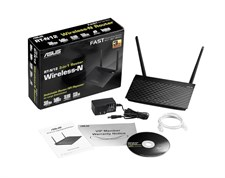 ASUS RT-N12+ B1 - Wireless-N300 3-in-1 Router/AP/Range Extender
