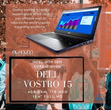 Dell Vostro 3591, Ci3 10TH, 4GB, 1TB, 15.6 HD, DOS
