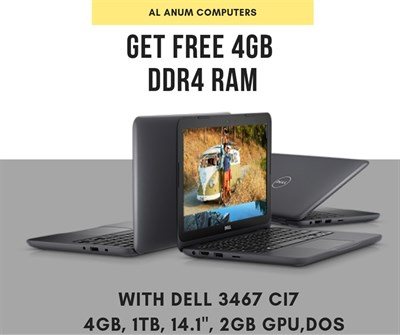 Dell Inspiron 14 3000 3467 Core I7 Price In Pakistan