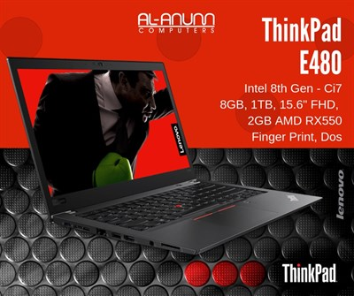 Lenovo ThinkPad E480 Core i7 8th Gen Laptop Price in Pakistan